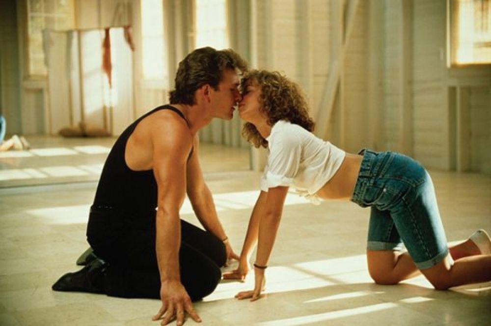 5 место – поцелуй из «Грязных танцев».