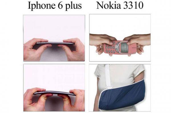 Nokia 3310 — гораздо прочнее современных мобильных телефонов.