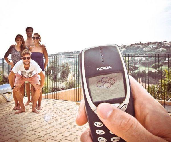Снимок на несуществующую камеру Nokia 3310.