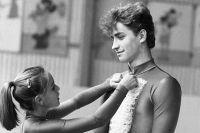 Екатерина Гордеева и Сергей Гриньков, 1986 г.