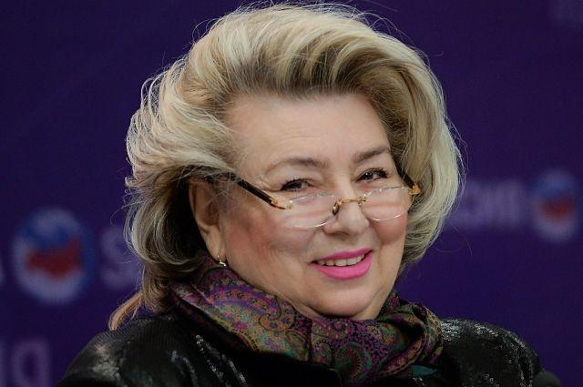 Татьяна Тарасова.