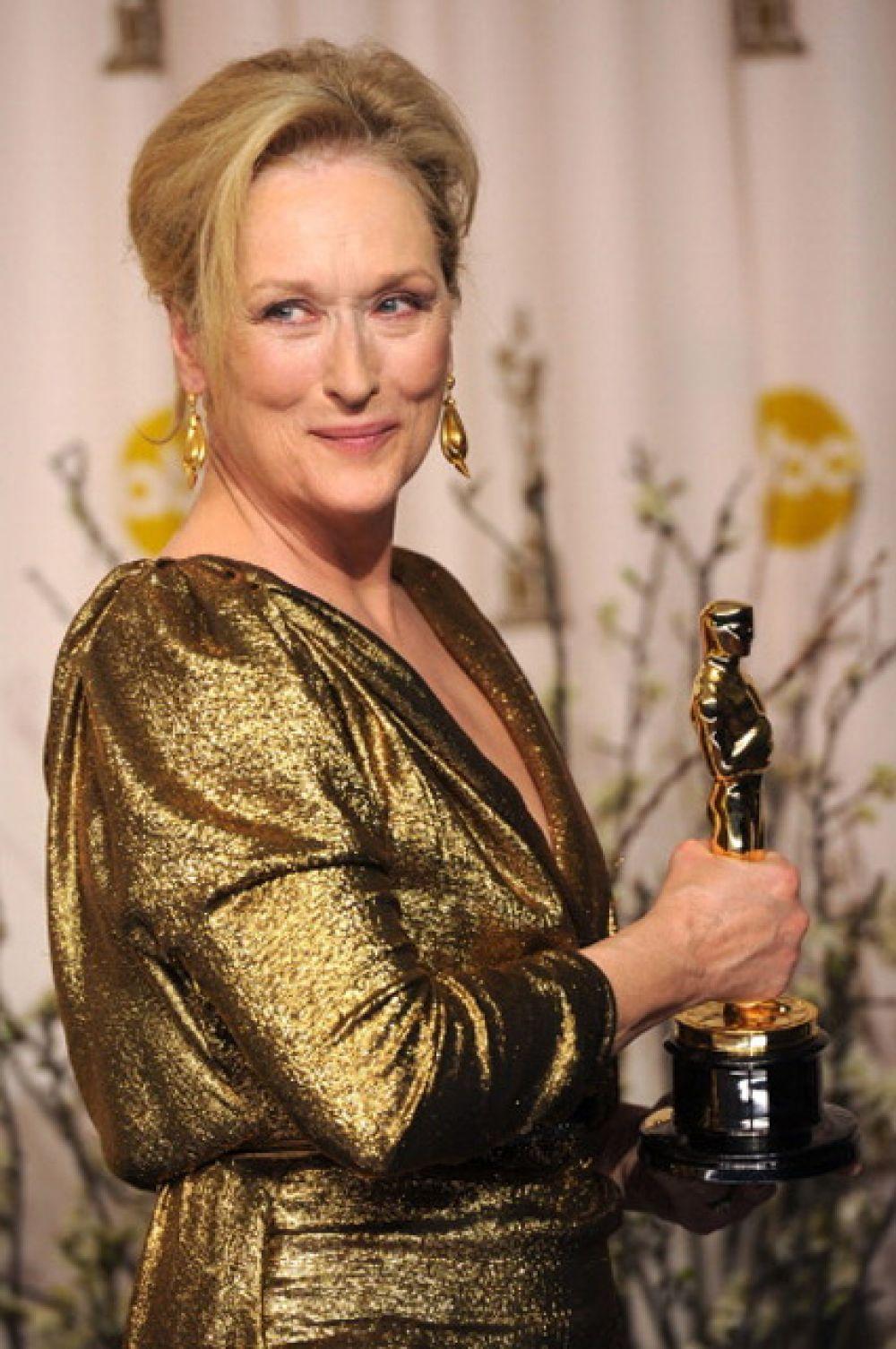 Больше всего актерских номинаций (среди женщин): актриса Мэрил Стрип номинировалась на «Оскар» 20 раз.