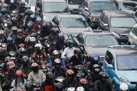В Пекине шесть транспортных колец, и скорость на них - 60-100 км/ч.