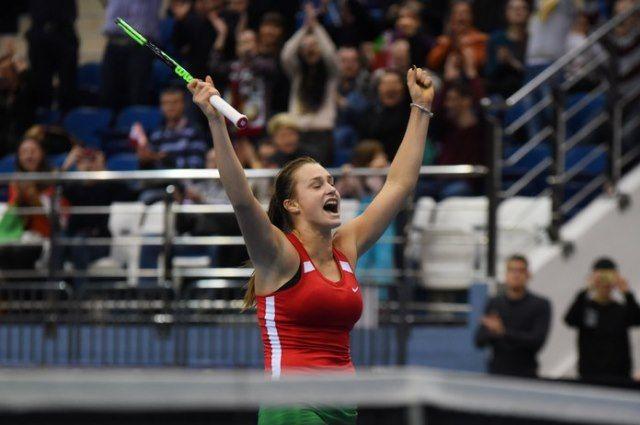 Сразу две белоруски сыграют в ¼ финала теннисного турнира вКитайской республике
