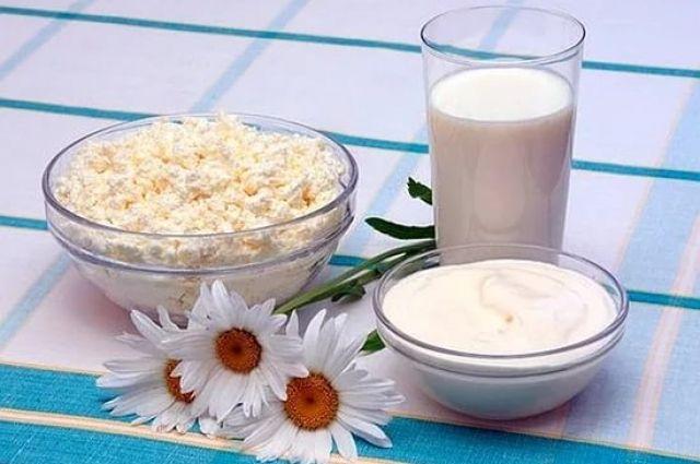 Молоко и молочные продукты для похудения.