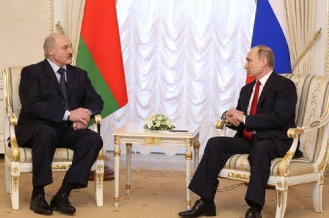 Лукашенко непустил В. Путина наместоЧП в северной столице — Батькина забота
