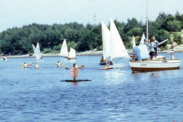 День Нептуна на реке Припять.