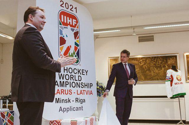 Градоначальники Минска и Риги презентуют заявку столиц Беларуси и Латвии на проведение ЧМ-2021.