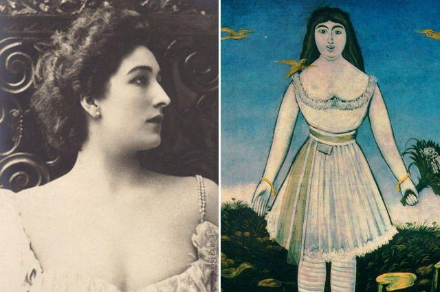 Хотя актриса отвергла любовь Пиросмани, он никогда не жалел о своем безумном поступке ради нее.