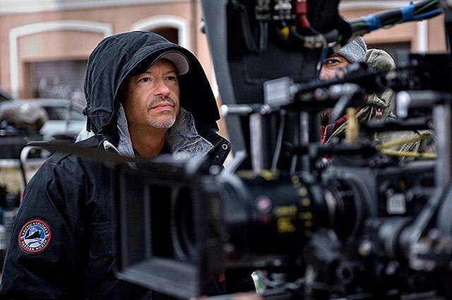 Федор Бондарчук на съемках фильма «Притяжение».