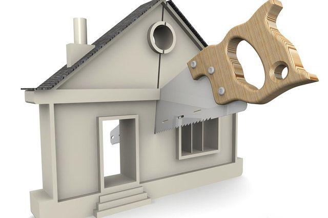 как разделить дом при разводе