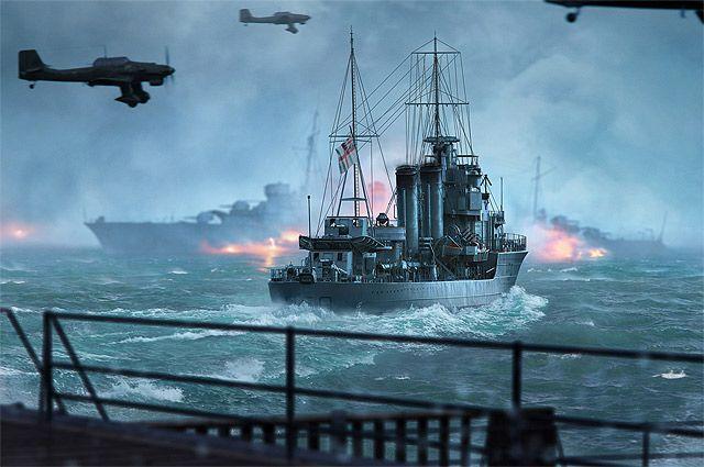 Wargaming и Warner Bros. расскажут игрокам о Дюнкеркской операции.