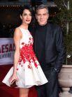 Джордж и Амаль Клуни в январе 2016 года.
