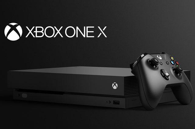 Xbox One X станет самой мощной игровой консолью в истории.