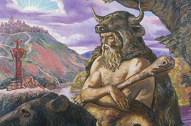 В большом почете у охотников был бог Тур, их покровитель.
