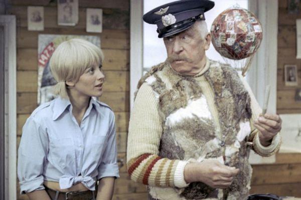 Наталья Варлей в роли Даши Калашниковой в картине Виктора Георгиева «Большой аттракцион», 1974.