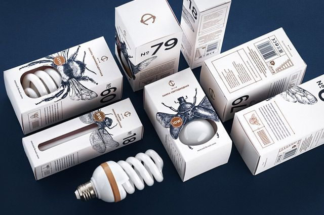 Упаковка для лампочек «CS Light Bulbs».