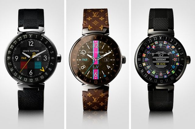 «Умные часы» сейчас еще и стильные. Louis Vuitton представила часы Tambour Horizon