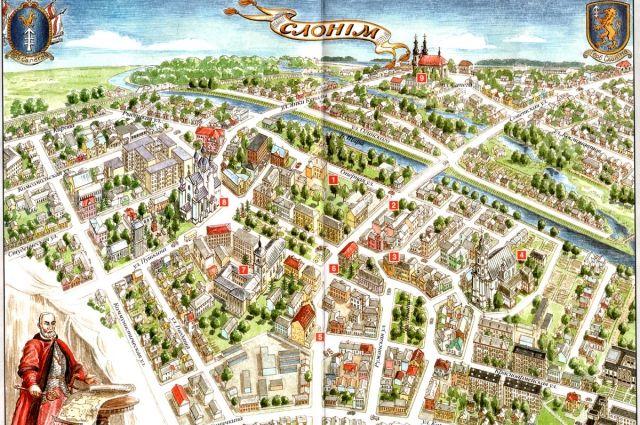 Селище с той поры, как заслон здесь устроил Евдоким, так Заслоном и звалось, а позже  - Слонимом.