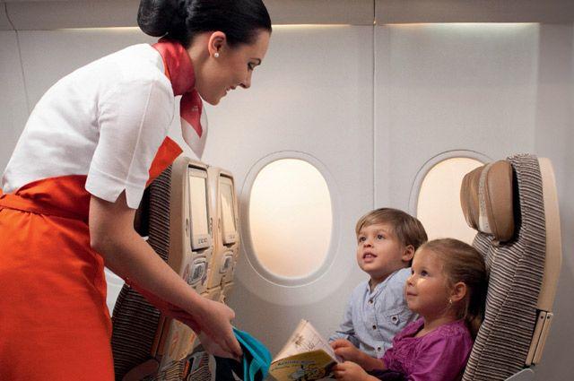 В самолетах «Белавиа» дети без сопровождения родителя могут летать с 6 лет.