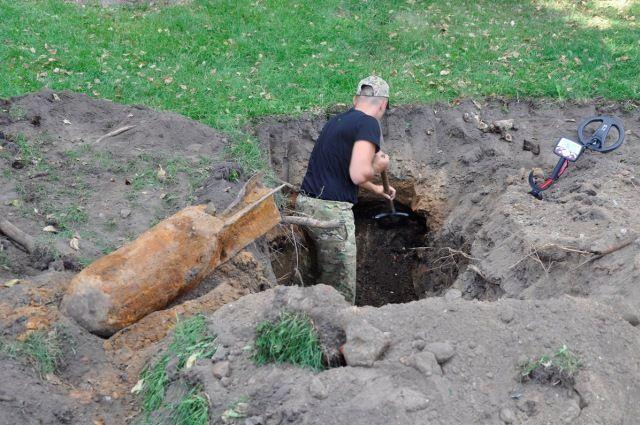 НаВанеева вМинске отыскали 100-килограммовую авиационную бомбу
