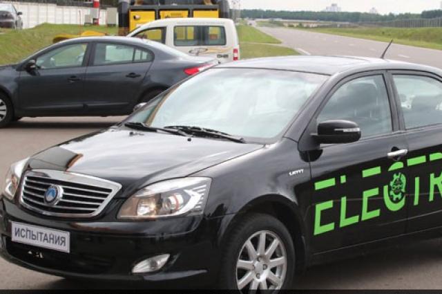 В Беларуссии представили 1-ый электромобиль собственного производства