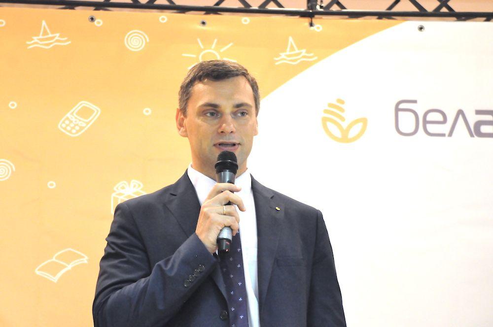 На фото заместитель Председателя Правления ОАО «Белагропромбанк» Сергей Чугай.