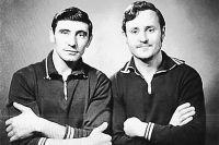 Закадычные друзья-испытатели Евгений Кирюшин (слева) и Сергей Нефёдов.