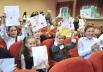 Юные ученики СШ №136 г. Минска с нетерпением ждали праздничного мероприятия.