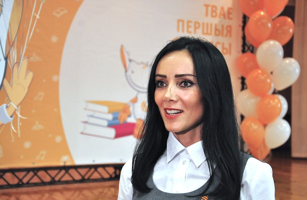 На фото пресс-секретарь ОАО «Белагропромбанк» Ольга Леченкова.