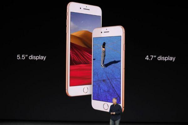 Старший вице-президент Apple по маркетингу Фил Шиллер представил iPhone 8.