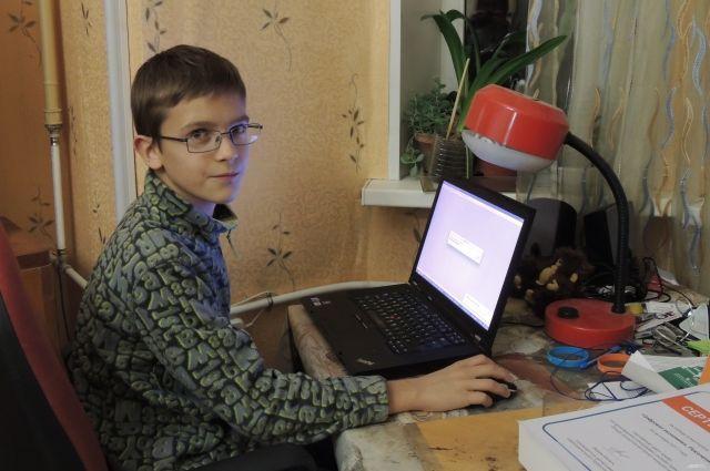 Лев Чижов победил во всероссийском конкурсе по цифровой экономике. © / Елена Воложанина.