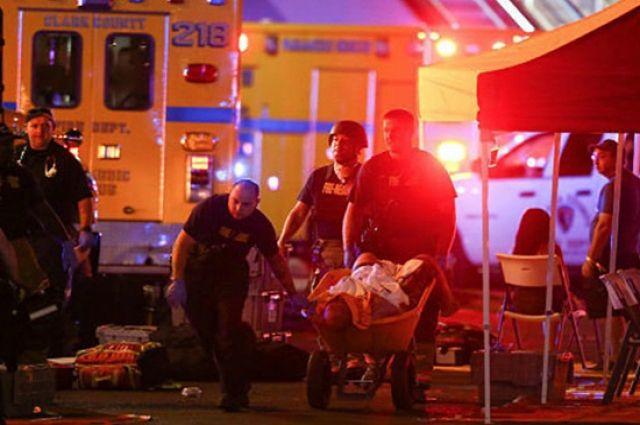 Число пострадавших при стрельбе вЛас-Вегасе превысило 400 человек