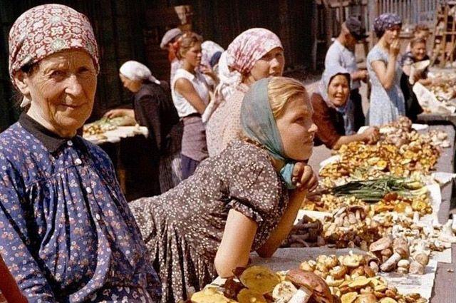 Типичная картина в СССР в сентябре-октябре.