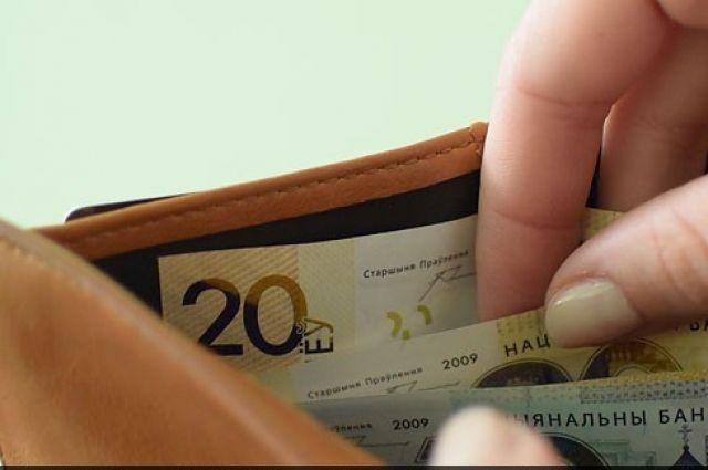 Средняя заработная плата вРеспублике Беларусь упала впервый раз запоследние семь месяцев