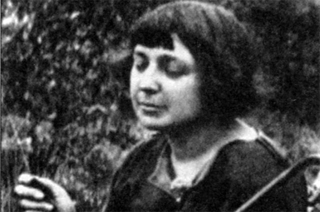 Марина Цветаева. 20-е годы.