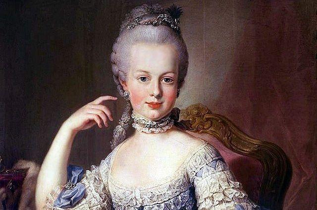 Портрет Марии-Антуанетты работы художника Мартина.