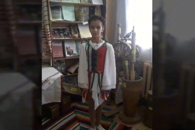 Паліна Зарэмба з 92 школы горада Мінска.