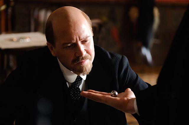 Евгений Миронов в роли Ленина в сериале «Демон революции».