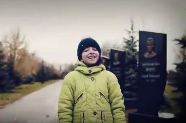 Аляксандра Ларчанка з сярэдняй школы №4 горада Рэчыцы.