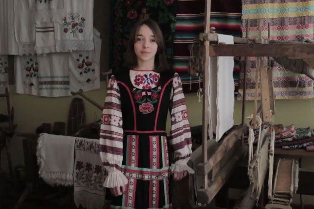 Дар'я Сяніца, вучаніца сярэдняй школы №28 горада Гродна.