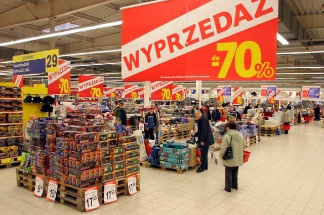 Польша решила поэтапно отказываться отторговли повоскресеньям
