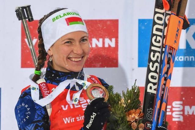 Домрачева одержала 29 побед на топ-соревнованиях.