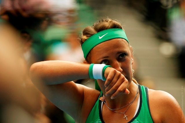 Виктория Азаренко снялась сAustralian Open