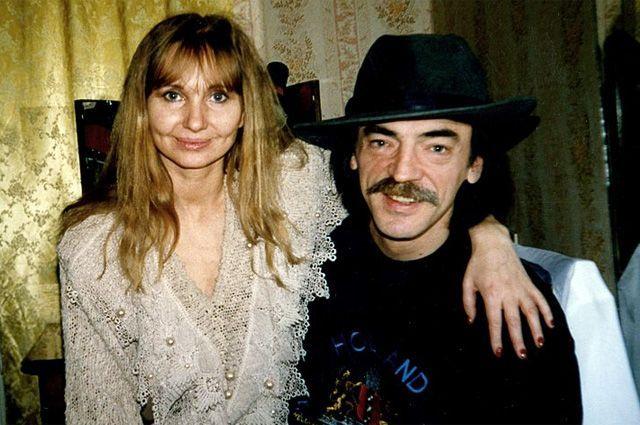 Лариса Луппиан и Михаил Боярский.