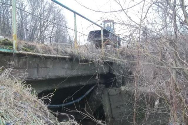 Очередной аварийный мост закрыт— сейчас вЧашниках