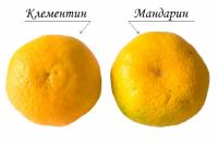 Клементин имеет насыщенный оранжевый цвет и красноватый оттенок.