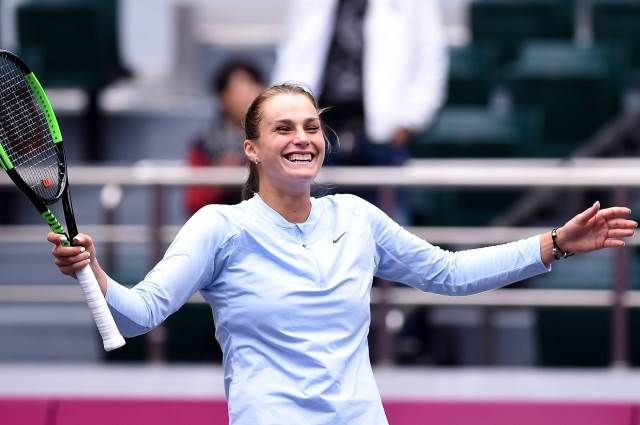 Арина Соболенко впервый раз сыграет на основном корте натурнире «Большого шлема»