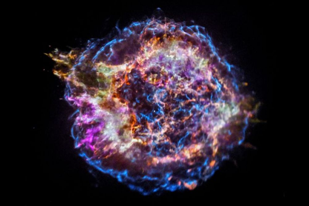 Кассиопея A — остаток сверхновой в созвездии Кассиопея.