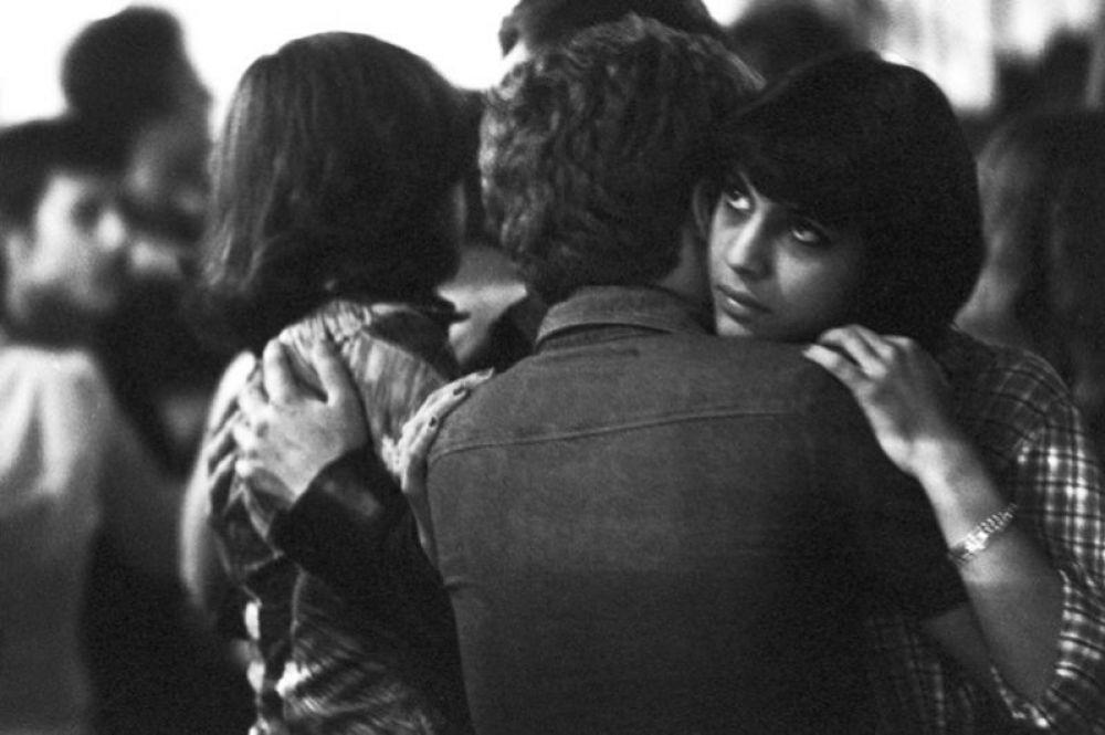 Дискотека «Музыкальный экспресс» в кафе «Метелица» на Калининском проспекте. 1980 год.
